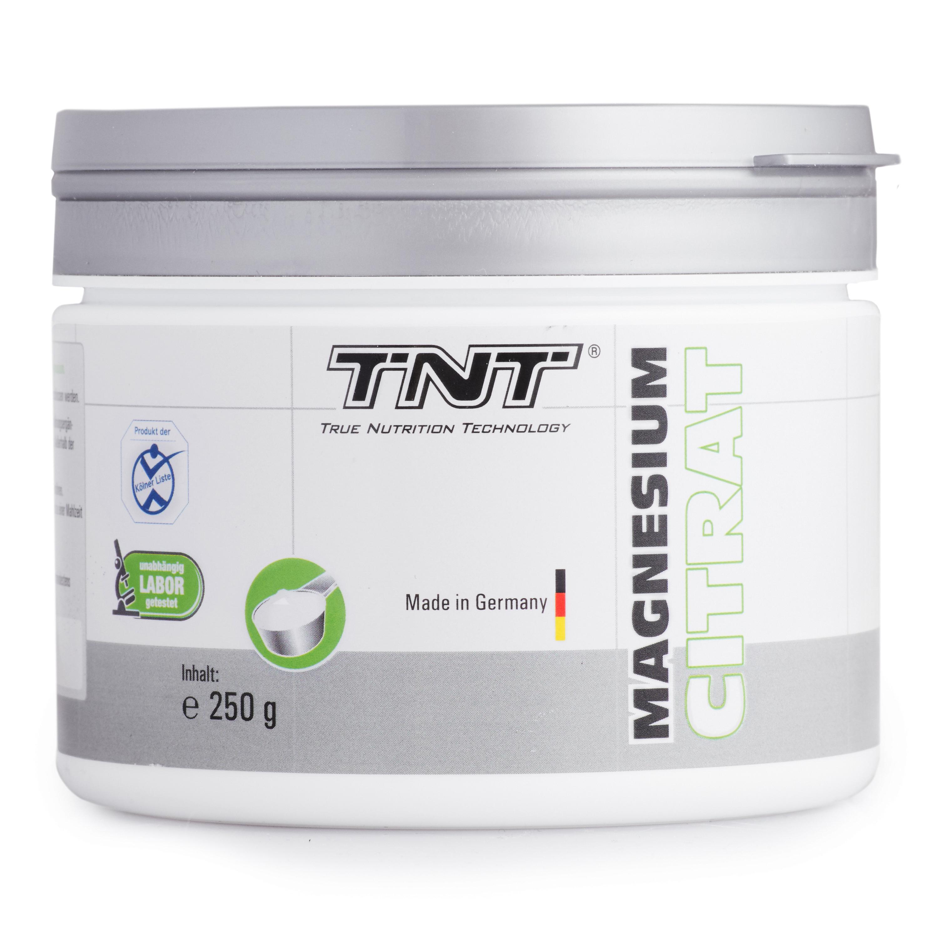 TNT Magnesium-Citrat - 250g Dose White Apple Fl...