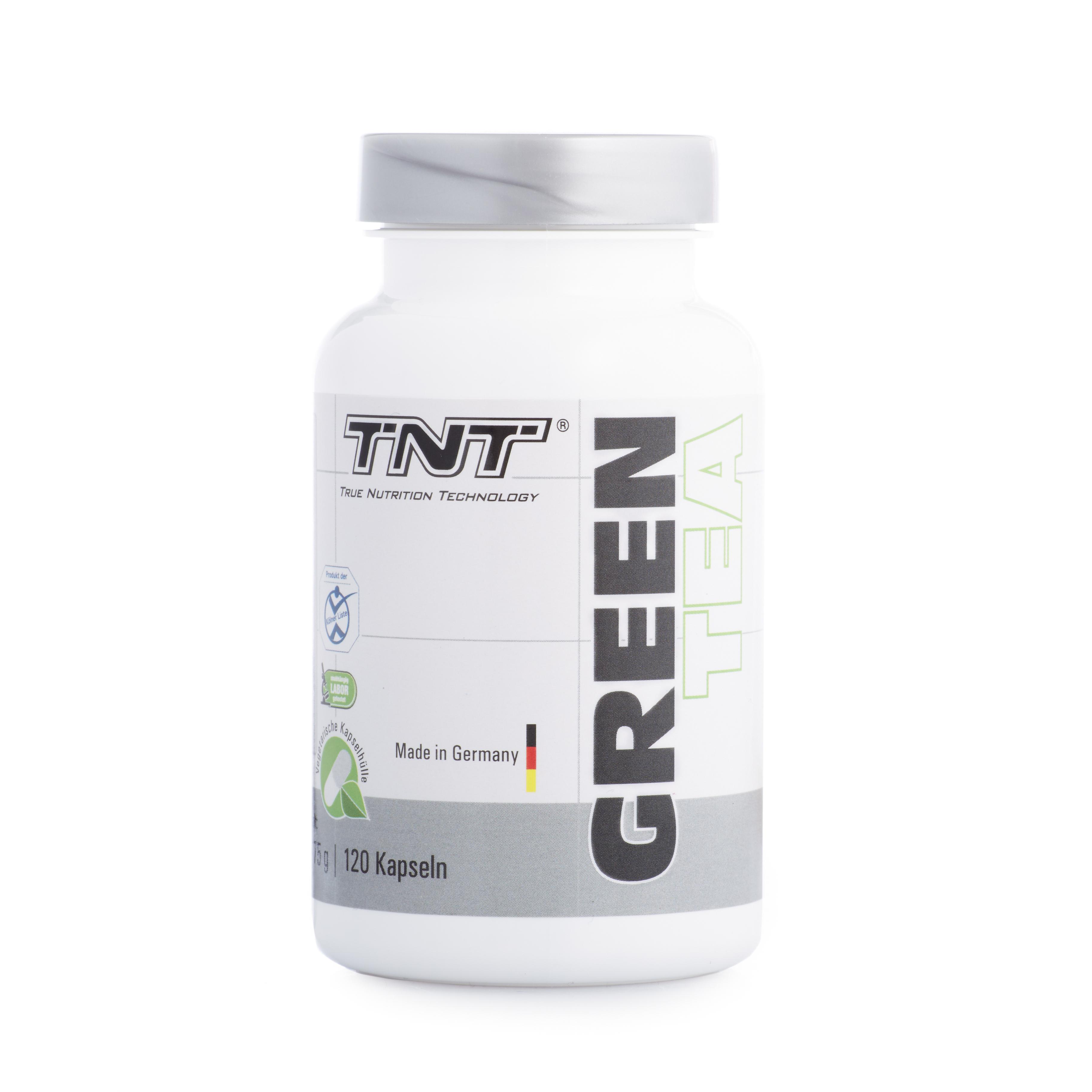 TNT Green Tea - 120 Kapseln