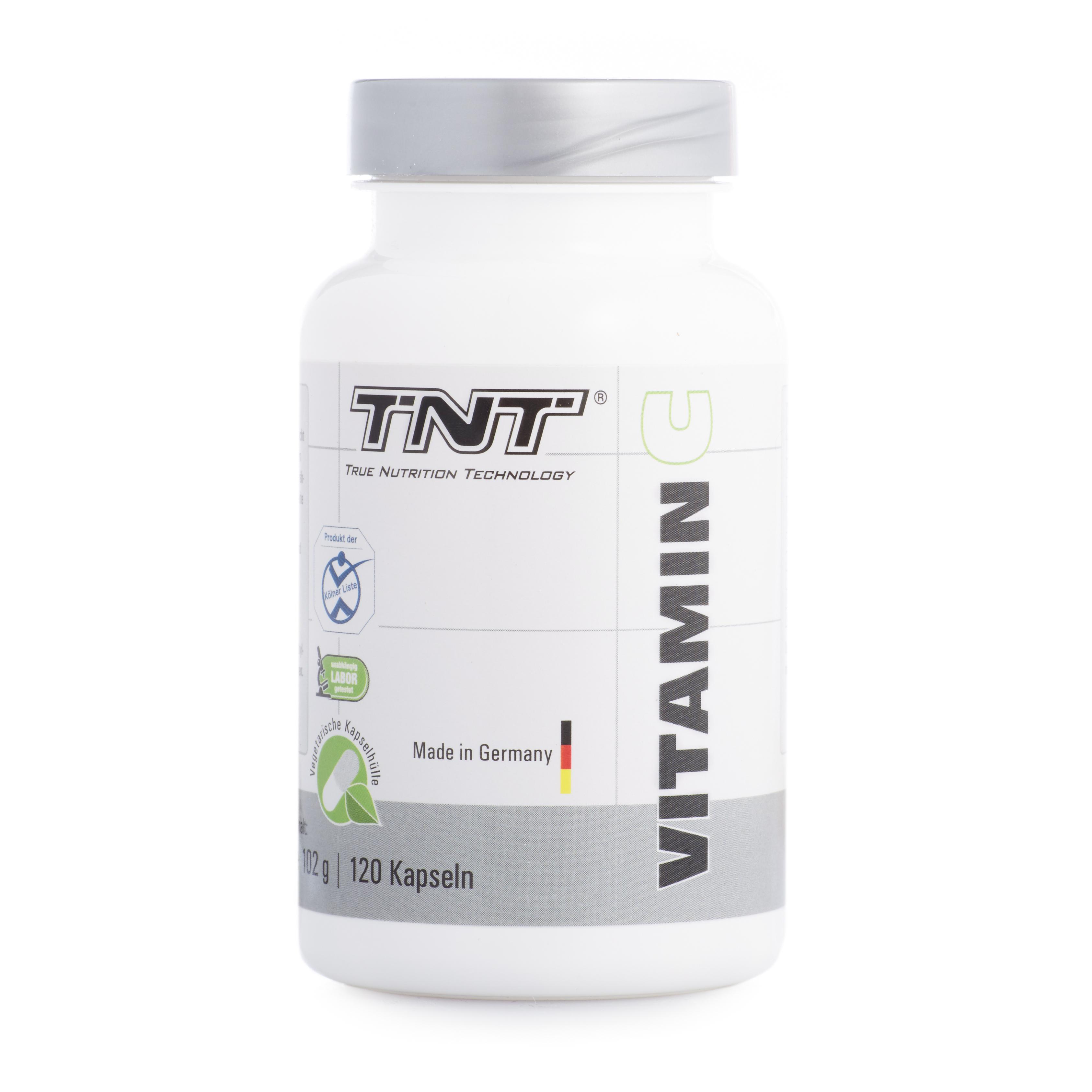 TNT Vitamin C - 120 Kapseln