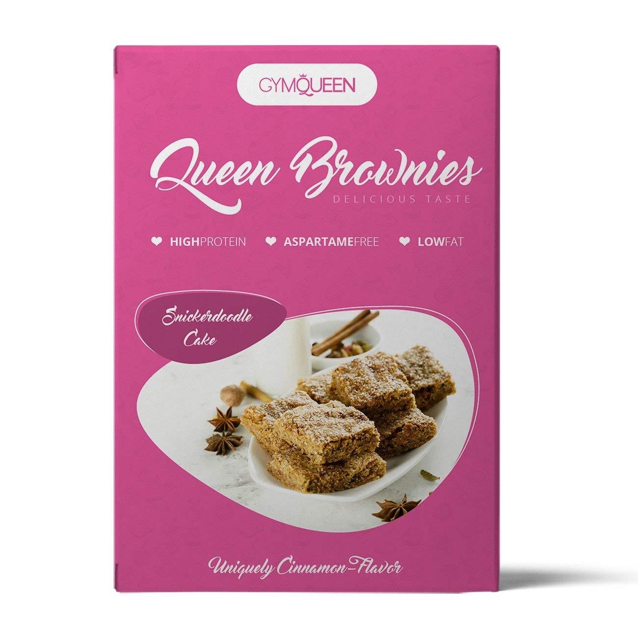 GymQueen Queen Brownies Backmischung 500g/Snick...