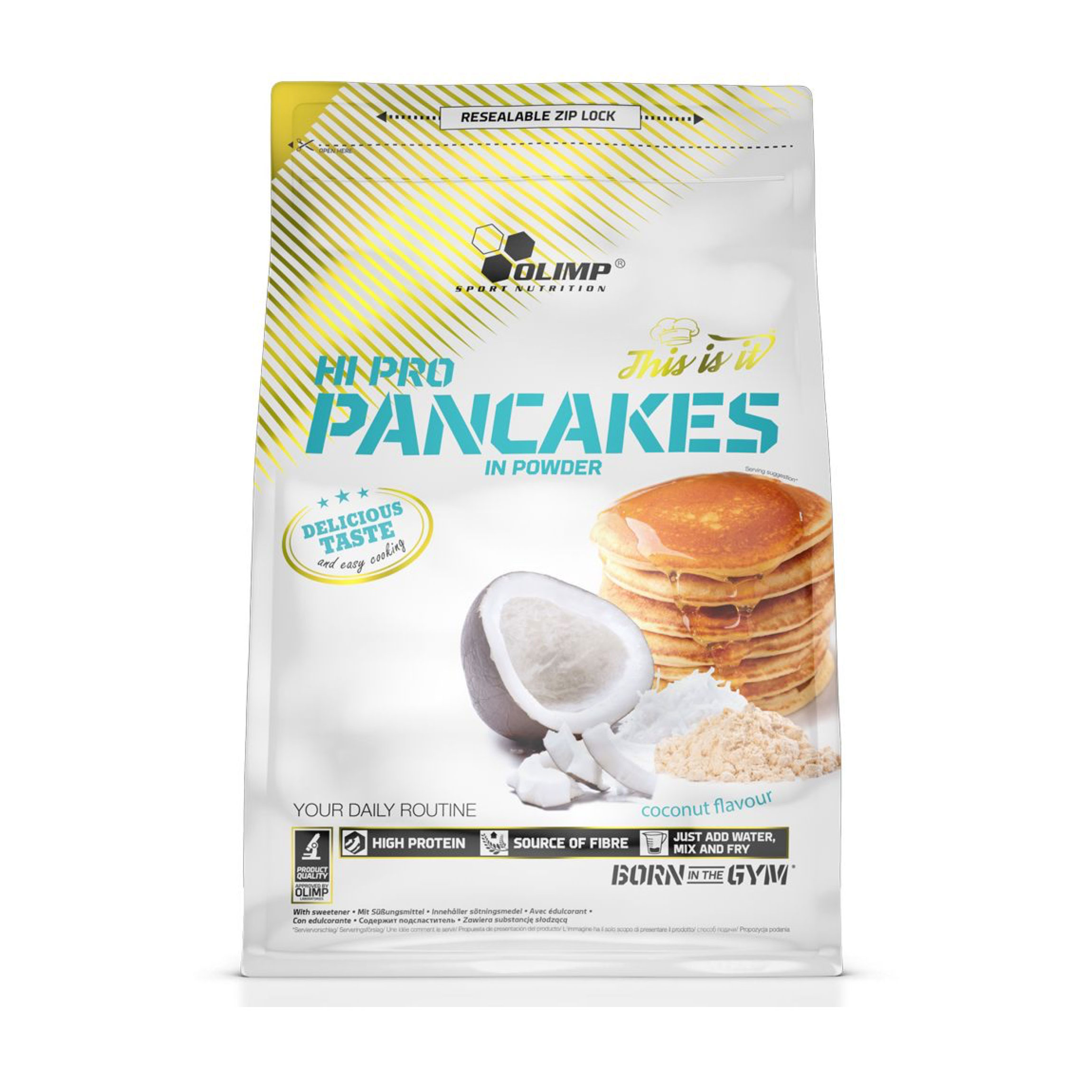 OLIMP Hi Pro Pancakes 900g/Coconut Flavour bei Mic's Body Shop
