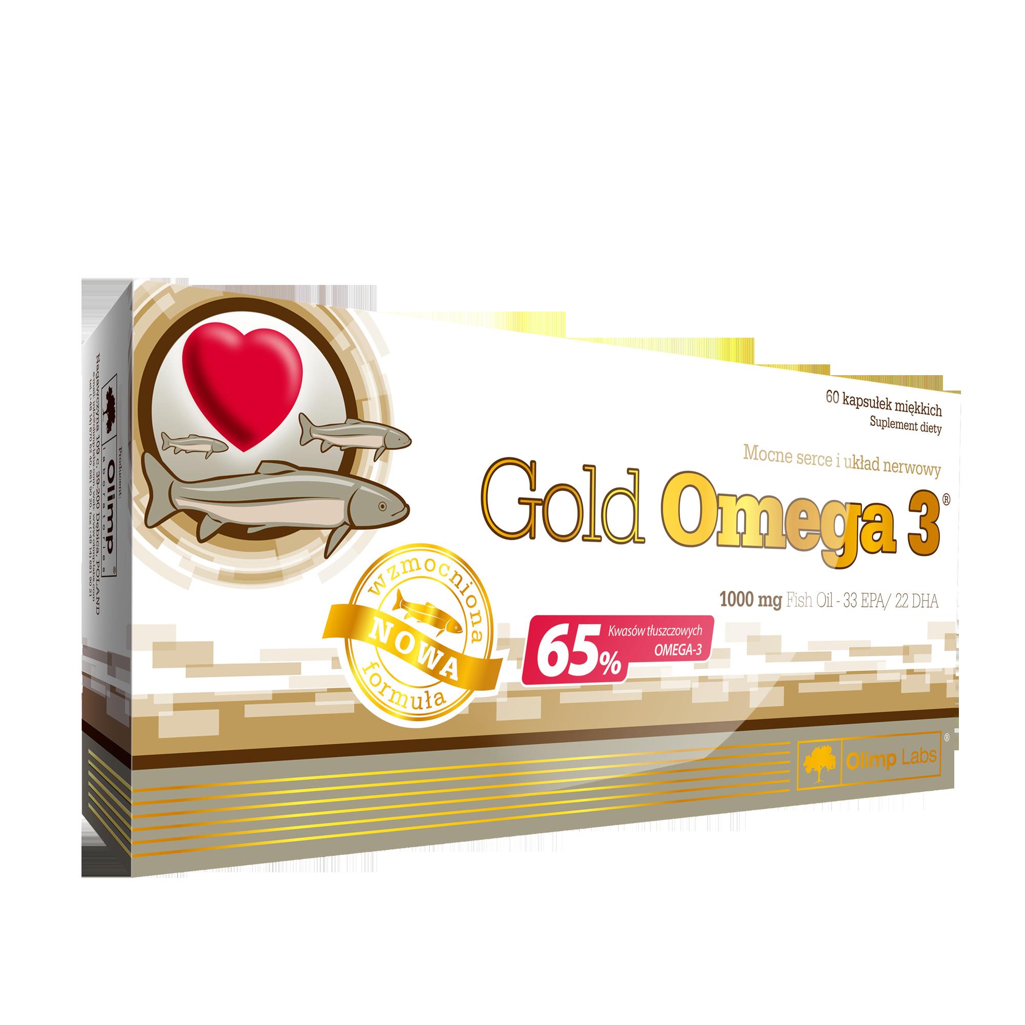 OLIMP Gold Omega 3 - 60 Kapseln