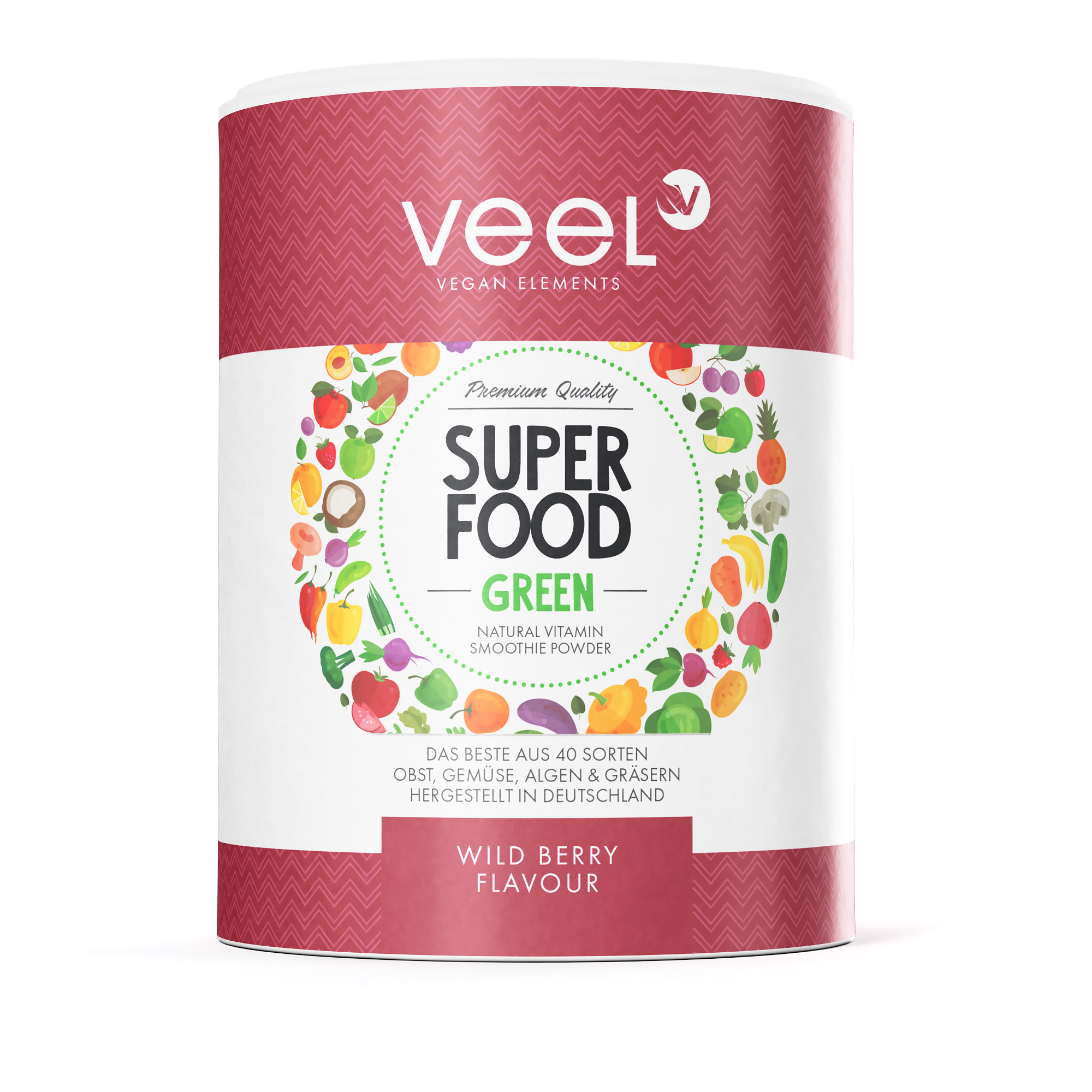 VEEL Superfood Green 300g/Lime