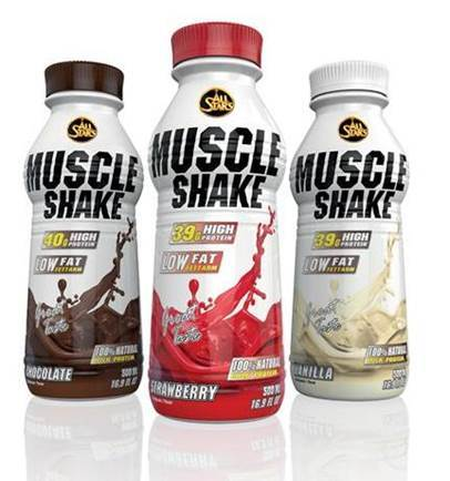 ALL STARS Muscle Shake - 500ml Flasche