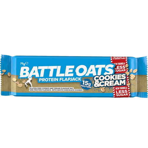 BATTLE OATS Protein Flapjack