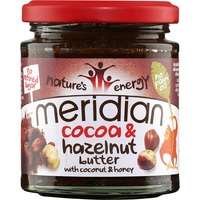 NATURES ENERGY Meridian Cocoa & Hazelnutbutter