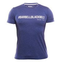 ELEIKO Mens T-Shirt Barbellblackbelt - navy blue