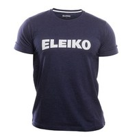 ELEIKO Mens T-Shirt - Baumwolle - navy blue