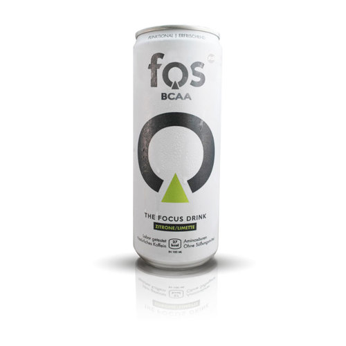 FOS BCAA - The Focus Drink - 330ml Dose (inkl. Pfand)