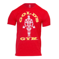 Gold's Gym Classic Gold's Logo T-Shirt - rot