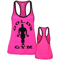 Gold's Gym Damen Silhiouette Stringer - pink