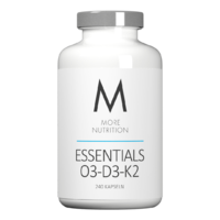 MORE NUTRITION Essentials O3-D3-K2 - 240 Kapseln