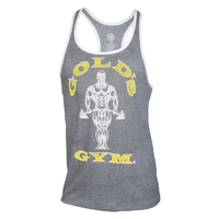 Gold's Gym Contrast Stringer Tank Top - grau