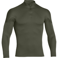 UNDER ARMOUR Infrared Pullover mit Reißverschluss - rifle green