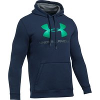 UNDER ARMOUR Fleece Hoodie UA Rival, enganliegend, mit Aufdruck
