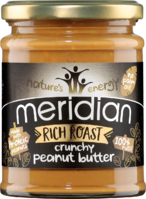 NATURES ENERGY Meridian Crunchy Peanut Butter