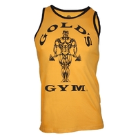Gold's Gym Athlete Tank Top - gold