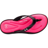 UNDER ARMOUR Damen Sandalen Marbella V - schwarz/pink