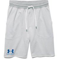 UNDER ARMOUR Herren Shorts Frotteefleece - Grau