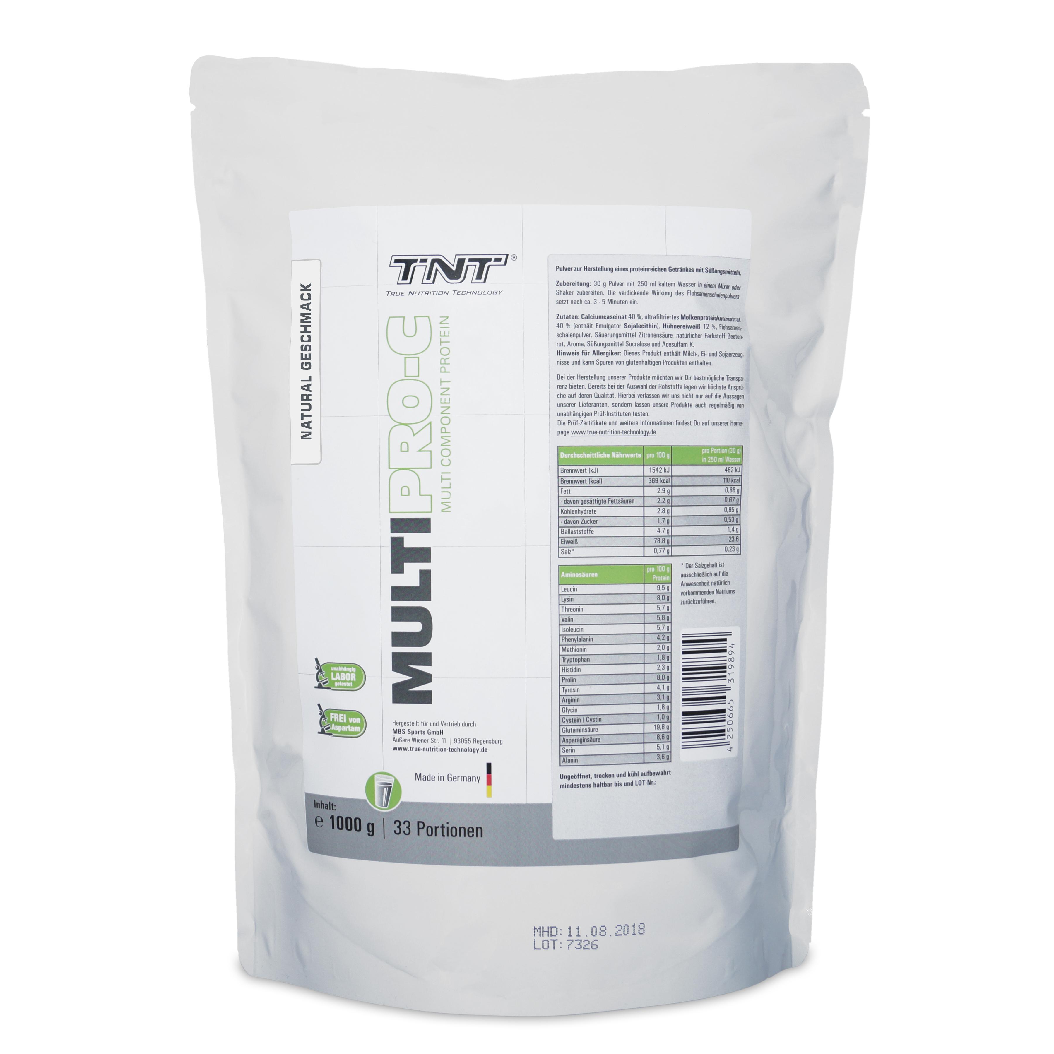 TNT Multi PRO-C (Mehrkomponentenprotein) Natural